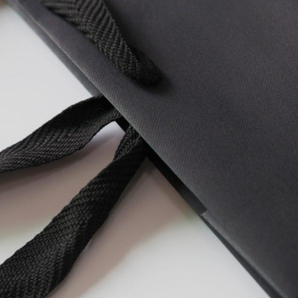 Custom beater dyed paper bag