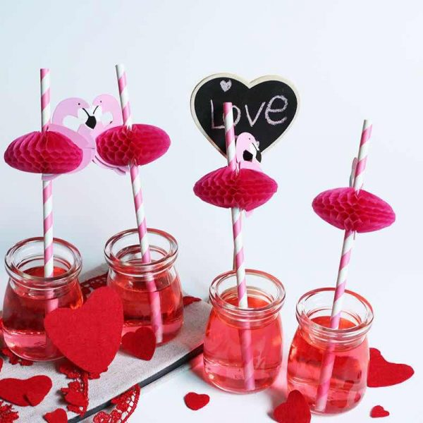 Pop-up-paper-straw-decoration-factory-sales