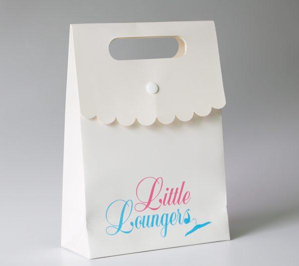 Custom Paper Bag with Flap