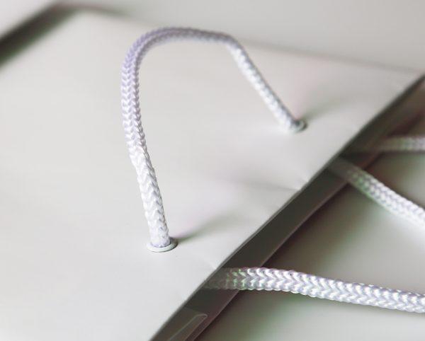 Gromment Eyelet Paper Bag 01
