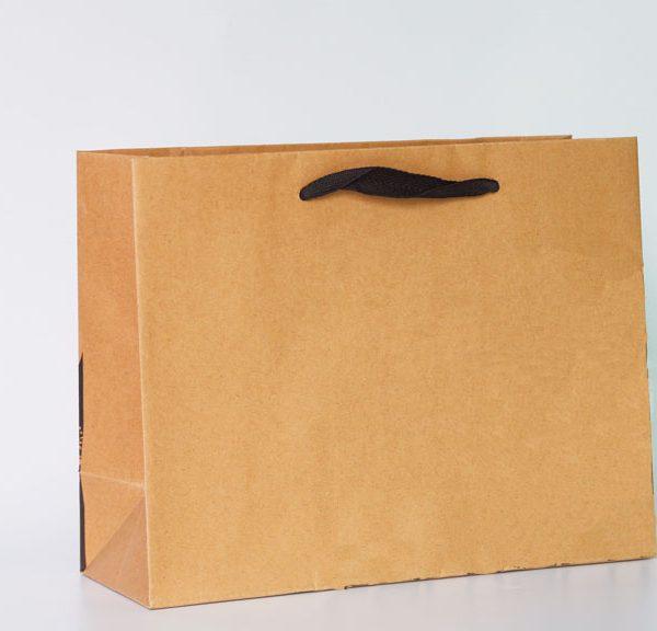 Automachine Paper Bag with Knots 01