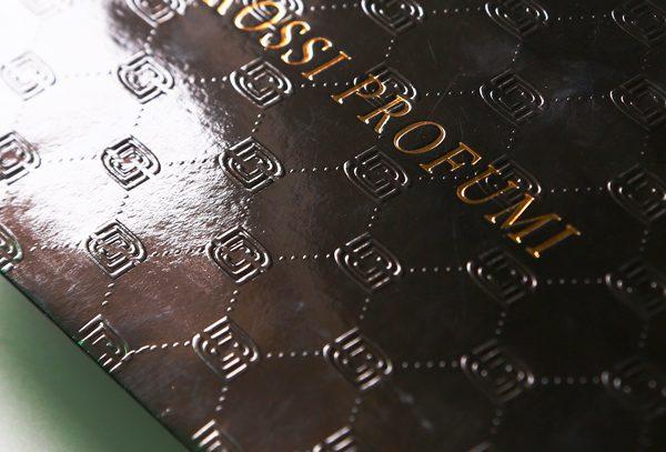Ovall Embossed Logo Paper Bag